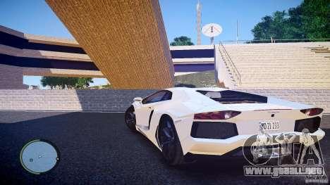 Lamborghini Aventador LP 700-4 para GTA 4 left