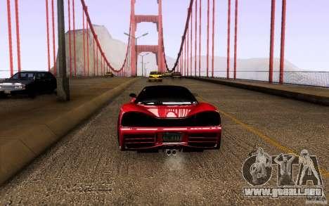 Honda NSX VielSide Cincity Edition para la visión correcta GTA San Andreas