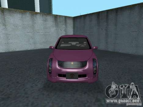 Toyota WiLL Cypha para GTA San Andreas left