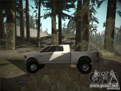Dodge Ram 3500 4X4 para GTA San Andreas left