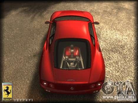 Ferrari 360 modena para GTA 4 visión correcta