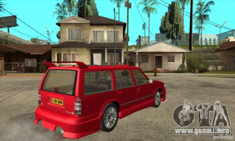 Volvo 945 Wentworth R with bodykit (1.2) para la visión correcta GTA San Andreas
