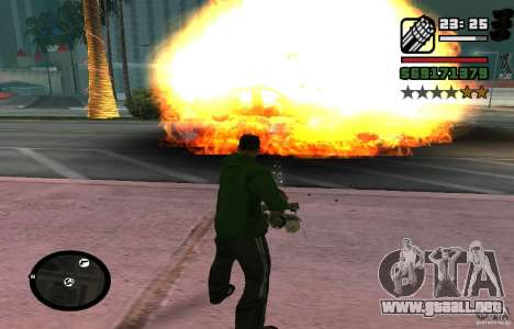 New Effects [HQ] para GTA San Andreas tercera pantalla