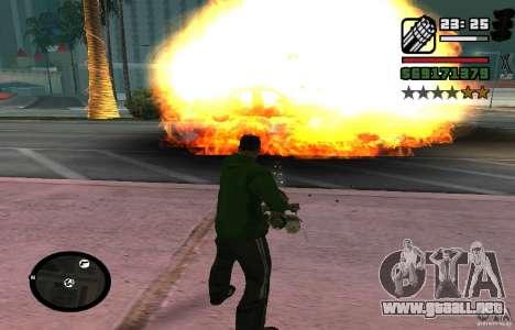 New Effects [HQ] para GTA San Andreas tercera pantalla