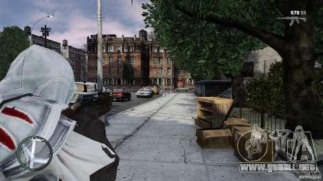 Assassins Creed II Ezio para GTA 4 adelante de pantalla