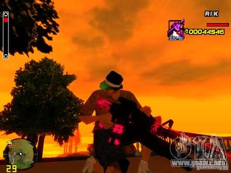 Hello Kitty weapon para GTA San Andreas sucesivamente de pantalla