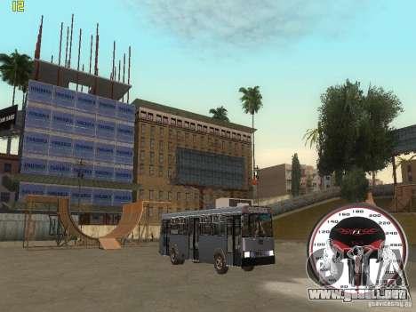 Trolebús LAZ-52522 para la visión correcta GTA San Andreas