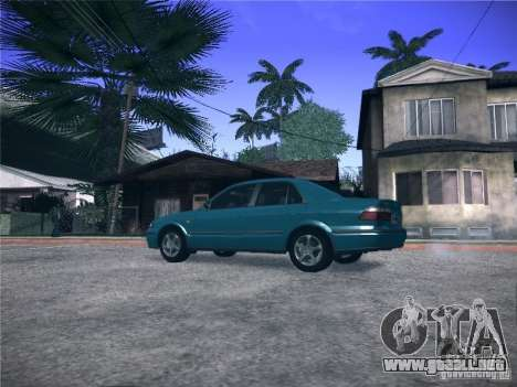 Mazda 626 GF 1999 para GTA San Andreas left