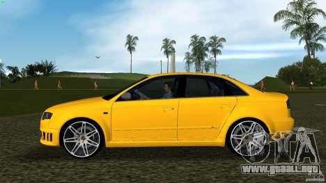 Audi RS4 para GTA Vice City left