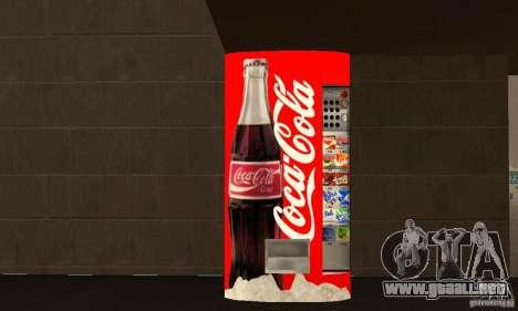 Cola Automat 6 para GTA San Andreas