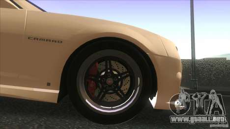Chevrolet Camaro SS Dr Pepper Edition para vista lateral GTA San Andreas