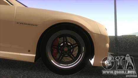 Chevrolet Camaro SS Dr Pepper Edition para vista lateral GTA San Andreas
