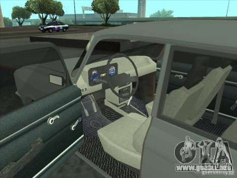 Moskvich 2140 SL para la visión correcta GTA San Andreas