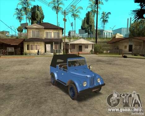 GAZ 69A para GTA San Andreas left