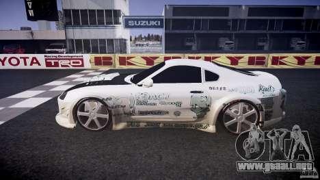 Toyota Supra ProStreet Style para GTA 4 left