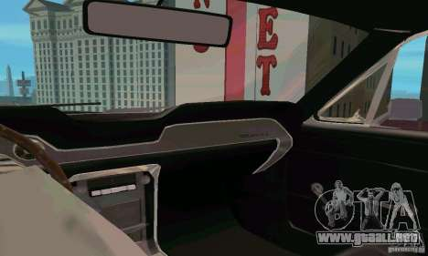 Ford Mustang 1967 para la visión correcta GTA San Andreas