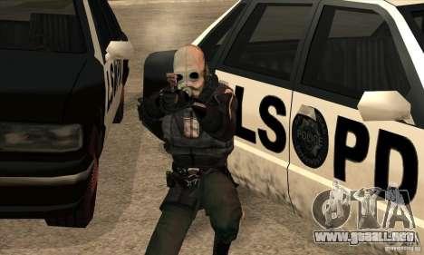 Police Man para GTA San Andreas quinta pantalla