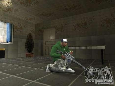 Pak domésticos armas V2 para GTA San Andreas quinta pantalla