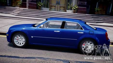 Chrysler 300C SRT8 Tuning para GTA 4 left