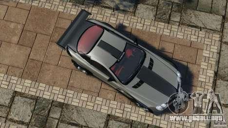 Mercedes-Benz SLR Volcano 2008 Hamann v1.0 para GTA 4 visión correcta