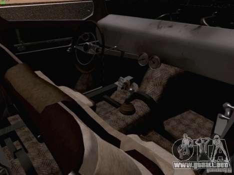 Ford Pickup Ratrod 1936 para visión interna GTA San Andreas
