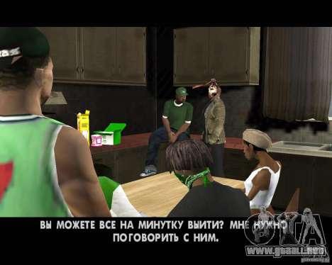 Jason Voorhees para GTA San Andreas décimo de pantalla