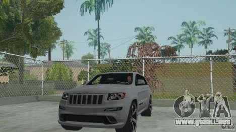 Jeep Grand Cherokee SRT8 2013 para GTA San Andreas