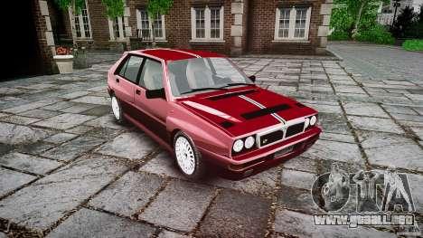 Lancia Delta HF Integrale Dealers Collection para GTA 4 visión correcta