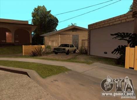 Vehículos estacionados en la calle Grove para GTA San Andreas