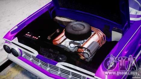 Chevrolet Impala 1959 para GTA 4 visión correcta