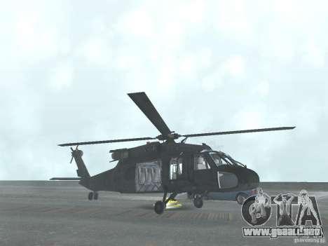 El helicóptero de CoD 4 MW para GTA San Andreas