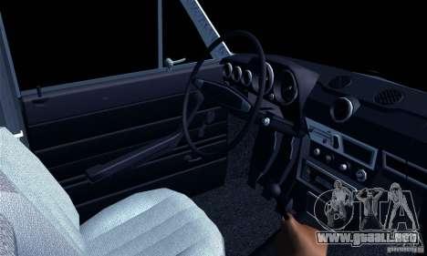 Hobo 2106 VAZ para GTA San Andreas vista posterior izquierda