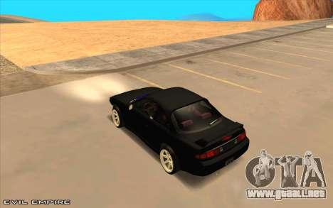 Nissan Silvia s14 Tuned Drift v0.1 para GTA San Andreas left