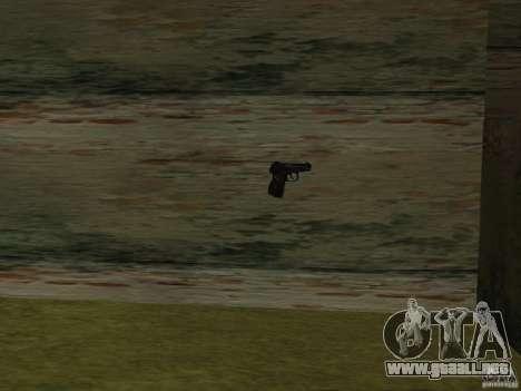 Pak versión doméstica armas 2 para GTA San Andreas tercera pantalla