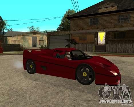 Ferrari F50 - style DTM TUNING para GTA San Andreas
