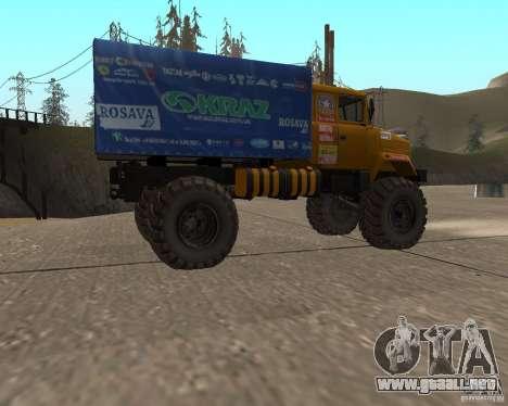 KRAZ Monster para GTA San Andreas left
