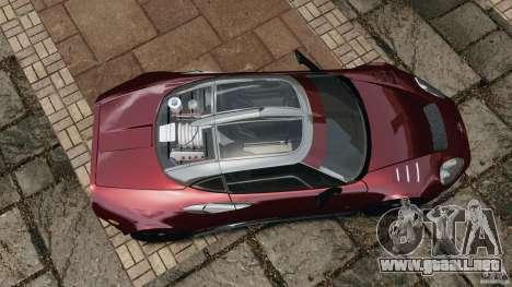 Spyker C8 Laviolette LM85 para GTA 4 visión correcta