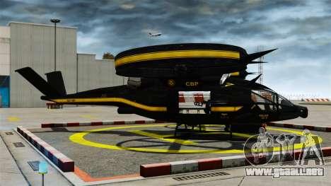 Helicóptero de transporte SA-2 Samson para GTA 4