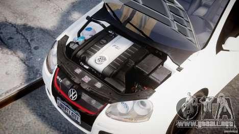 Volkswagen Golf 5 GTI para GTA 4 visión correcta