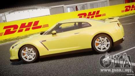 Nissan GT-R R35 2010 v1.3 para GTA 4 left