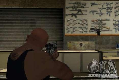 M14 EBR desde el Killing Floor para GTA San Andreas sucesivamente de pantalla