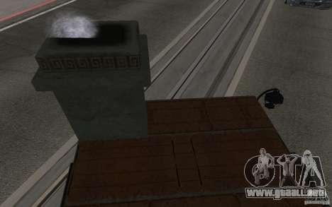 Estufa para la visión correcta GTA San Andreas