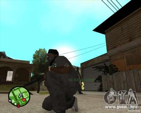 MP5 para GTA San Andreas segunda pantalla