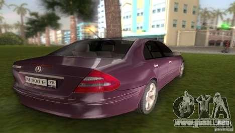 Mercedes E-class E500 para GTA Vice City vista lateral izquierdo