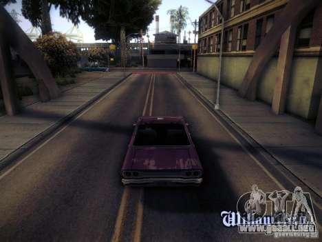SA DirectX 1.1 Beta para GTA San Andreas tercera pantalla