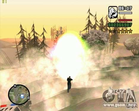 Masterspark para GTA San Andreas sucesivamente de pantalla