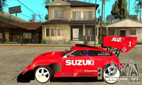 Suzuki Escudo Pikes Peak V2.0 para GTA San Andreas left