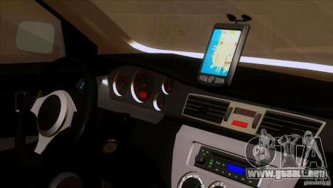 Mitsubishi Lancer Evolution IIIV para GTA San Andreas vista hacia atrás