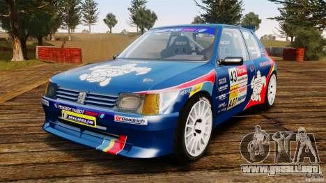 Peugeot 205 Maxi para GTA 4