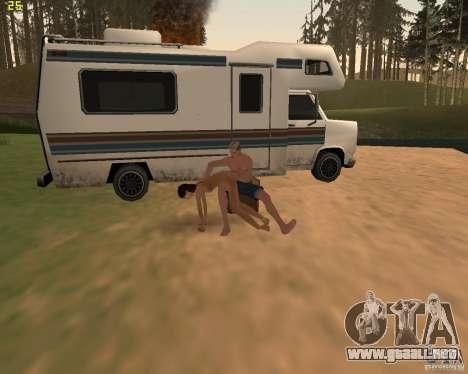 Fiesta de la naturaleza para GTA San Andreas twelth pantalla